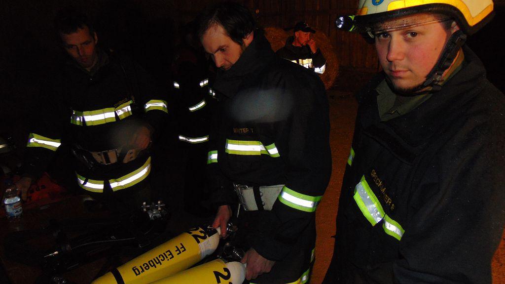 UA-Atemschutzübung in Wielands