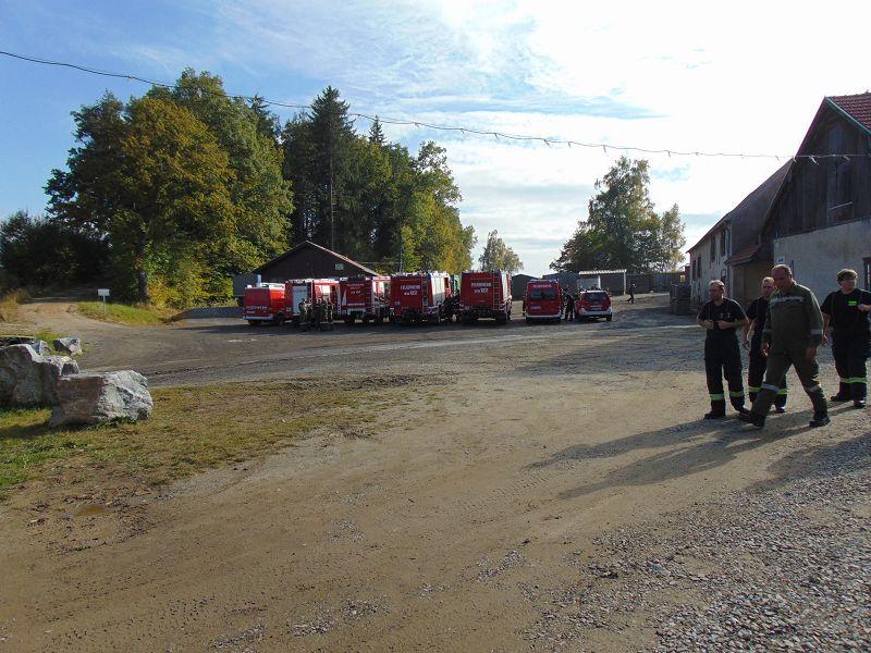 KHD-Übung in Allensteig