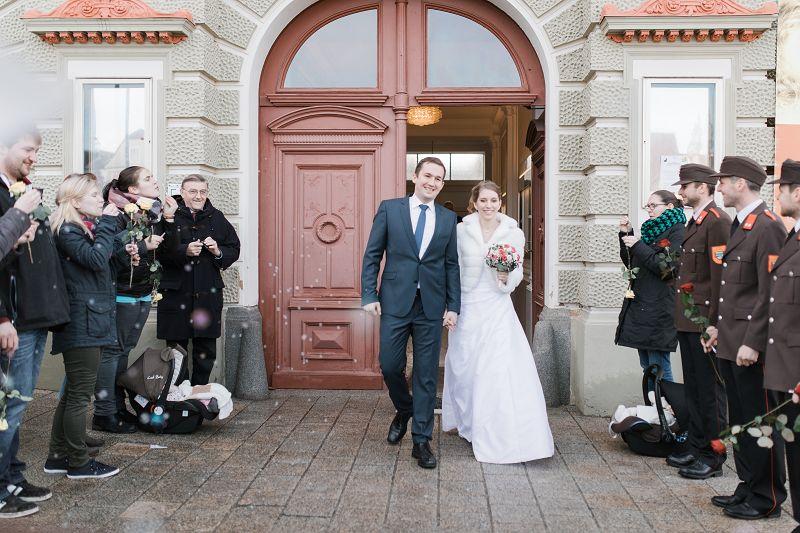Standesamtliche Hochzeit von OFM Reitter Thomas