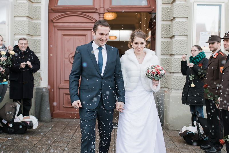 Standesamtliche Hochzeit Von Ofm Reitter Thomas Freiwillige