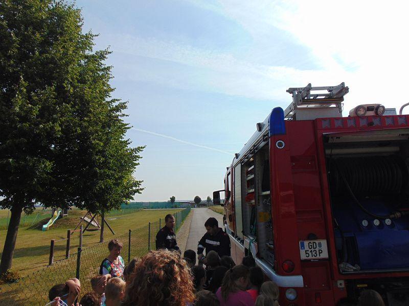 UA-Übung in der Volksschule Dietmanns