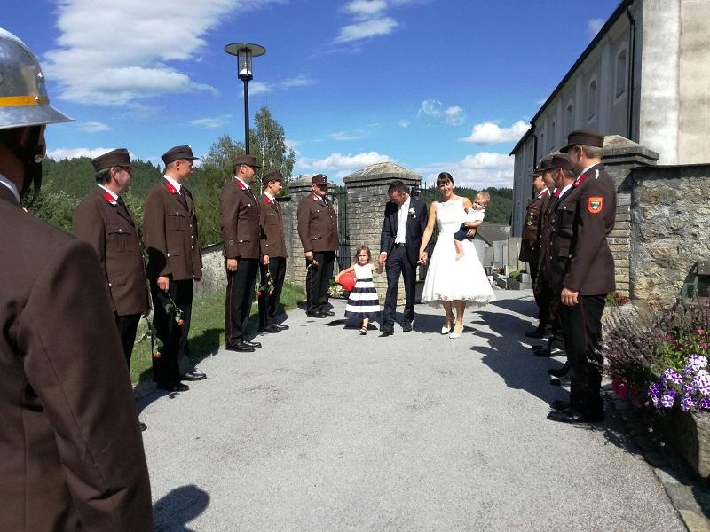 Hochzeit von HFM Schwingenschlögl