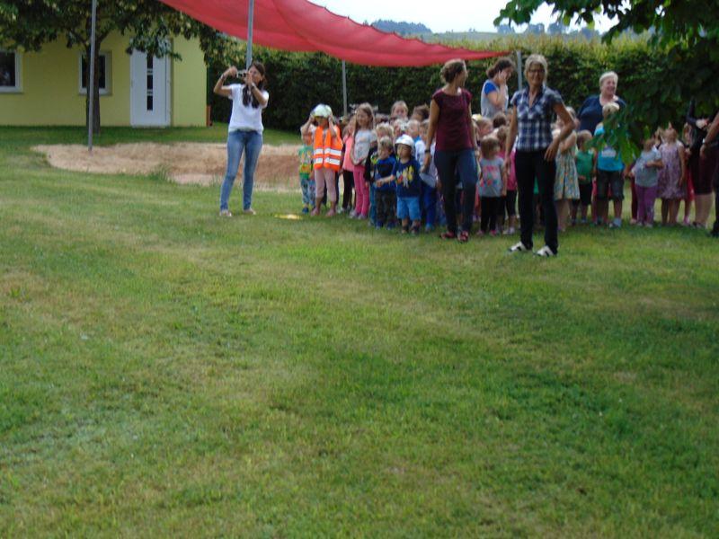 UA Übung im Kindergarten