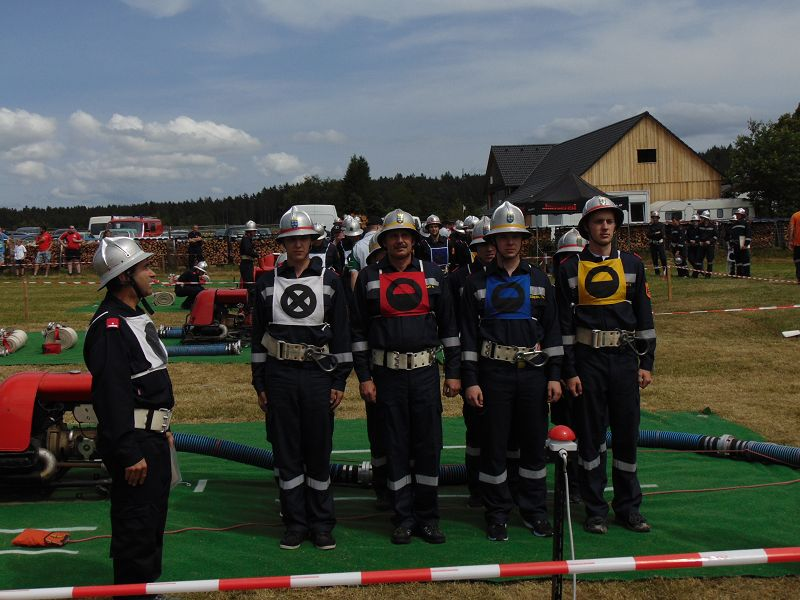 Feuerwehrleistungsbewerb in Leopoldsdorf