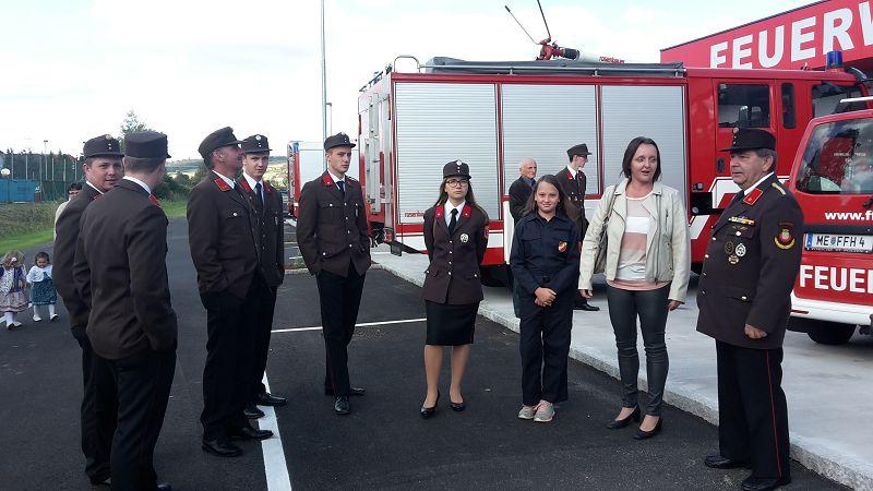 Segnung Feuerwehrhaus in Hürm