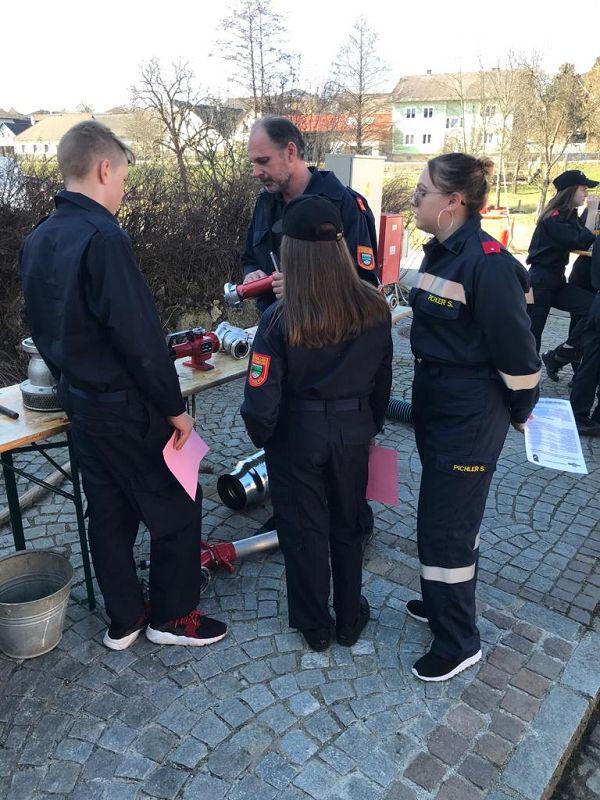 Feuerwehrjugendbewerb in Albrechts