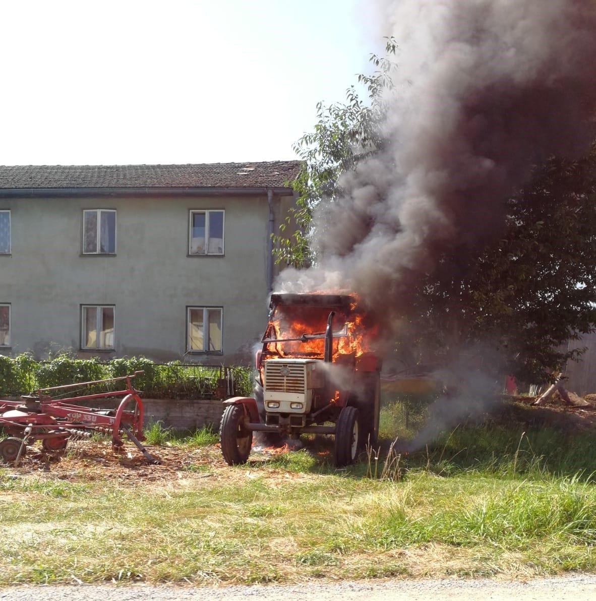 B2 – Fahrzeugbrand