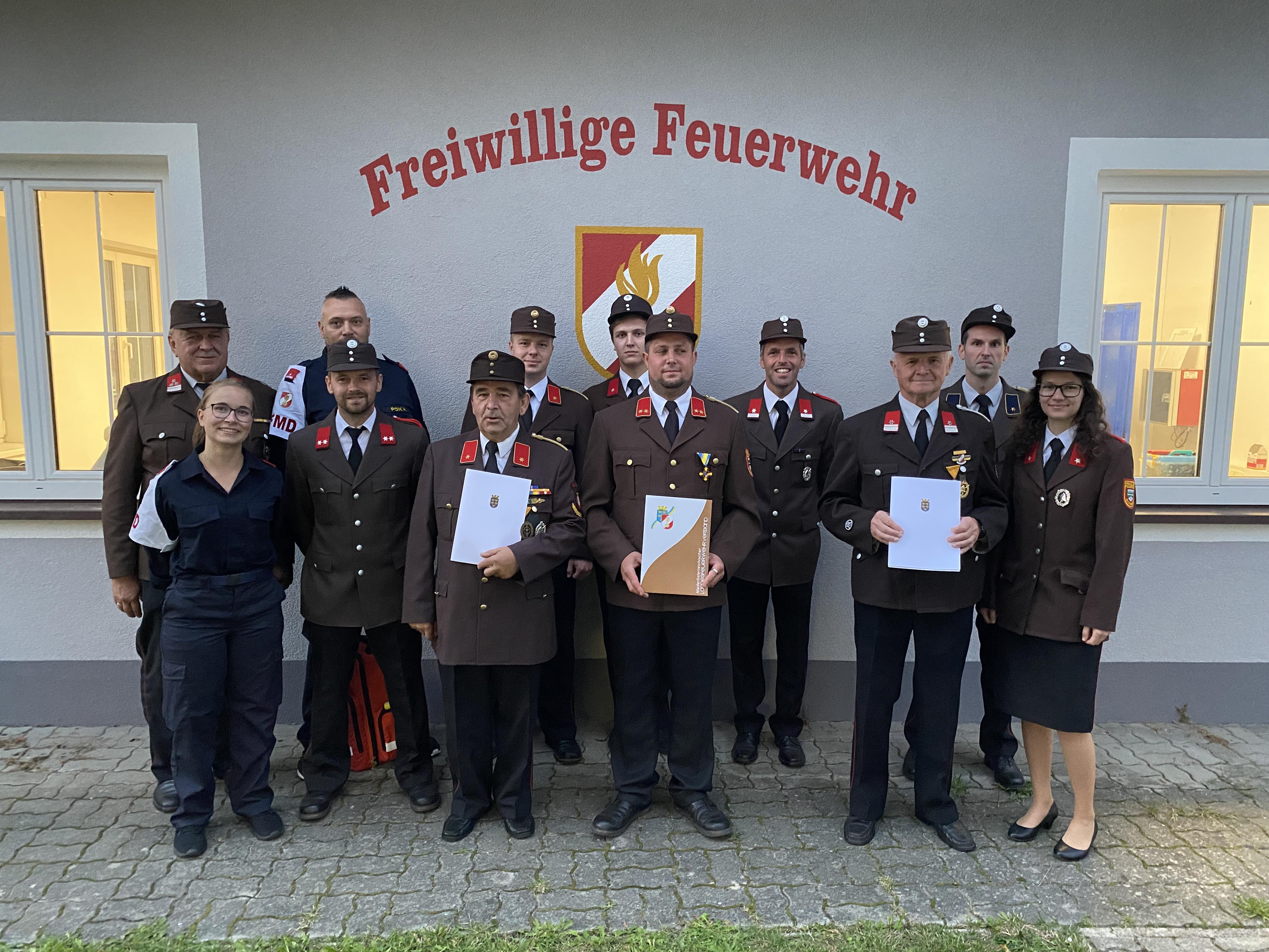 Abschnittsfeuerwehrtag in Groß Höbarten